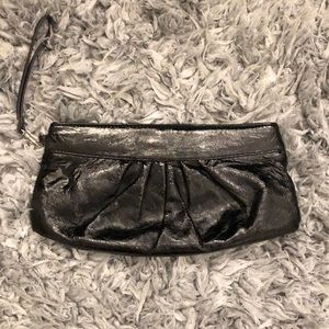 Apt. 9 black clutch/wristlet